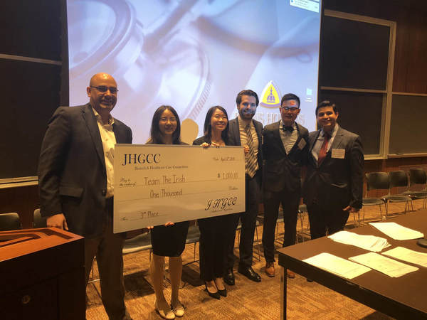 Third Prize Winner The Irish Orig 2018 Johns Hopkins University Case Competition