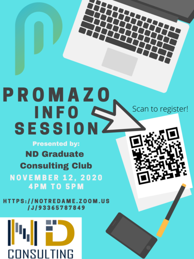 Promazo Info Session